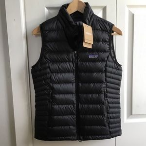NWT Patagonia Women's Down Sweater Vest Black